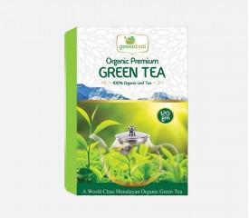 Green Tea (100% Organic Leaf Tea)